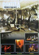 PANTERA `Cowboys From Hell` big poster