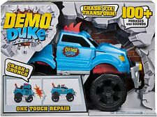 Demo Duke Crashing & Transforming Truck with Sounds & One Touch Repair Ages 4+