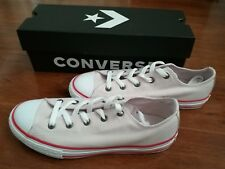 CONVERSE ALL star Kids Boys Girls Chuck Taylor Size 4Y Shoes light pink Sneaker
