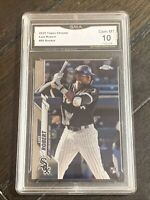 2020 Topps Chrome Luis Robert RC #60 GMA 10 Gem! White Sox 🔥🔥🔥