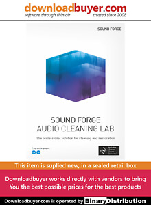 MAGIX Sound Forge Audio Cleaning Lab - [Boxed]