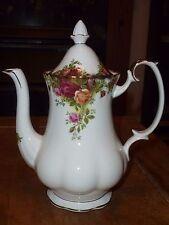 Royal Albert Old Country Roses Bone China Coffee Pot - 1962