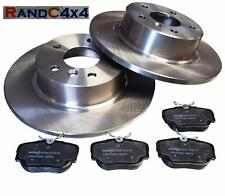 Land Rover Discovery 2 Rear Brake Disc Set and MINTEX Brake Pads TD5 V8