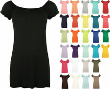 Short Sleeve Boho Solid Tops for Women