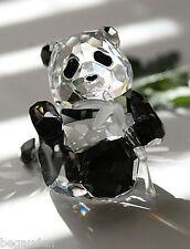 Swarovski Panda Cub SCS 2008 Crystal Figurine # 905543 - RETIRED