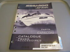 Sea Doo OEM Jetboats Parts and Accessories Catalog 1999 Sportster 1800 219300660