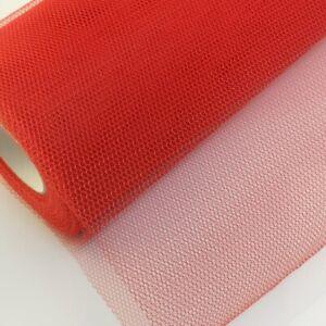 "12""/ 29 cm Wide Plain Stiff  Honeycomb Tulle Fabrics UK Seller"