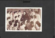Nostalgia Postcard Isadora Duncan American Dancer with young Dancers 1922