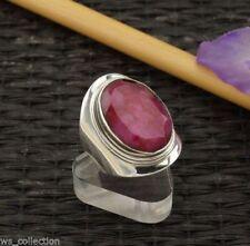Natürliche Unisex Ringe mit Rubin Edelsteinen Sets