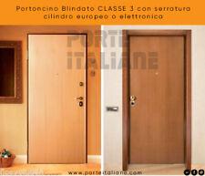 Puerta Blindado Clase 3 Con Cerradura Cilindro Europeo O Electrónica