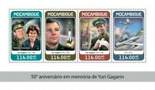 Mozambique  2018  Yuri Gagarin space   S201806