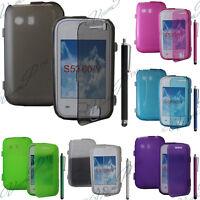 Accessoire Etui Coque Portefeuille Livre Samsung Galaxy Y Neo GT-S5360 S5369i