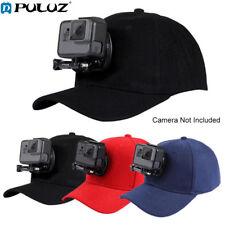Cam Accessories Outdoor Canvas Baseball Cap Sun Hat Topi W/ J-Hook Holder Mount