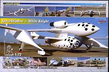 Unicraft Models 1/72 RUTAN SPACE SHIP ONE and WHITE KNIGHT