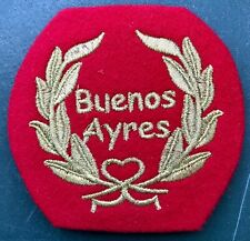 Patch embroidered historic (1807) Infantry Regiment 1 Patricios Argentine Army