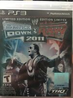 WWE SmackDown vs. Raw 2011 (Sony PlayStation 3, 2010) Complete