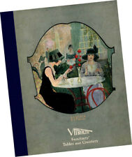 1922 Vitrolite CATALOG Samples Restaurant Furniture Countertops Equipment tables
