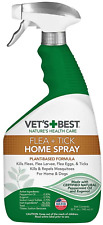 Vet's Best Flea and Tick for Dog and Home Spray 32 Oz Treatment for Dogs