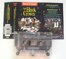 THE BLACK CROWES Hard To Handle Cassette Tape Single (UK DEFAM 6) (crows)