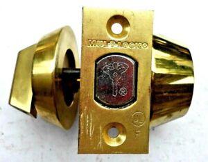 Mul-T-Lock   high security dead bolt lock       locksport