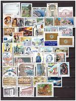 s27063) ITALIA MNH** 1999 Year set 50v + S/S +2 LIBR.  Annata complete