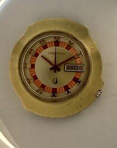 Vintage Bulova Accutron Sputnik 2182 (N1) 1971 Parts or Repair