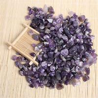 Wholesale 200g Bulk Tumbled Stones Amethyst Quartz Crystal Healing Specimens