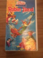 DISNEY CLASSICS - ROBIN HOOD VHS Video