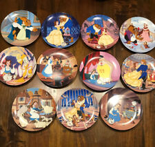 11 Knowles Collector Plates Beauty and the Beast, limited edition Walt Disney Co