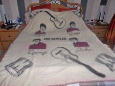 "THE BEATLES OFFICIAL WITNEY WOOL BLANKET FROM 1964 AMAZING CONDITION 60"" x 70"""