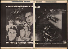 THE FALL GUY__Original 1984 Trade print AD / TV promo__LEE MAJORS_HEATHER THOMAS