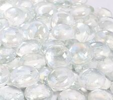 New Kibow 10 Pound Pack Fire Glass Beads for Gas Fire Pit 3/4 Inch Clear Color