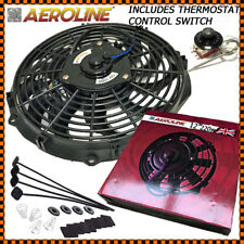 "12"" 220w Aeroline® Electric Radiator Cooling Fan + Thermostat Fits BMW"