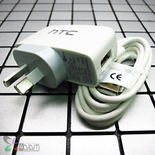 Genuine Original HTC 10/Lifestyle AC Wall Travel Charger+LG Type C Data Cable