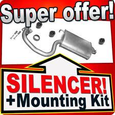 Rear Silencer TOYOTA AVENSIS (T25) 1.8 16V 129HP 2003-2008 Exhaust Box EHD