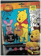 Winnie the Pooh Halloween Poster Print Set Walt Disney Unused 2012