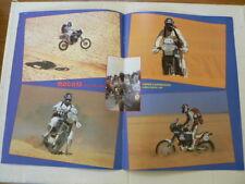 A510-PIERRE KARSMAKERS PARIS DAKAR 1987 MX MOTOCROSS POSTER DRUMSTORE