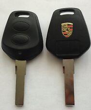 COQUE CLÉ TÉLÉCOMMANDE PORSCHE Boxster Carrera 911 968 986 996 GT2,GT3/ 2BOUTONS