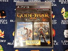 God of War Collection BLACK LABEL EXCELLENT CONDITION (Sony PlayStation 3, 2010)