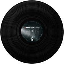Native Instruments Traktor Scratch Control Vinyl Schw. MK1 | Neu