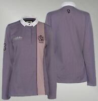 Ladies Requisite Soft Cotton Long Sleeve Polo Shirt Sizes from 8 to 18