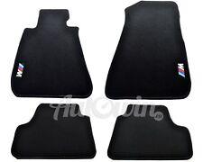 BMW 3 Series E92 E92LCI Black Carpets With /// M Emblem 2007-2012 LHD Tailored