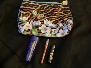 Estee Lauder Gift Set- bag,Lipstick, Makeup remover & lip pencil -NEW