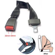 Adjustable Children Adult 25~65CM Car Seat Belt Extension 21mm Buckle Extender