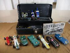 Vintage 1960s Monogram Strombecker 1/32 Scale Model Slot Car Lot Ferrari PLUS +