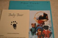 Baby Bears Fiber Trends 201x felted & Hand knitting Pattern
