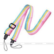 Rainbow Fujifilm Instax Mini 7s/8/25/50s/210 Polaroid Neck Strap Belt Stylish