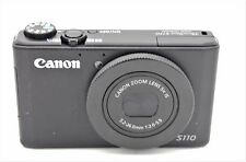 Canon PowerShot S110 12.1MP 5x ZOOM Digital Camera BLACK