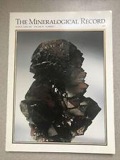Mineralogical Record Magazine March April 2007 Quartz Pink Fluorite