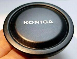 Konica Front Lens Cap 55mm Metal slip on type  for Hexanon 57mm f1.4 AR